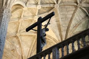 ジェロニモス修道院・キリスト像