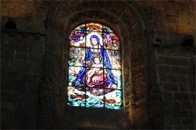 ジェロニモス修道院・ステンドグラス