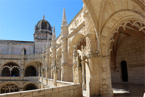ジェロニモス修道院・回廊