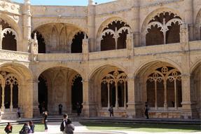 ジェロニモス修道院・中庭