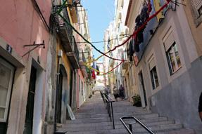 リスボンの小路