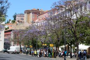 リスボン市街地