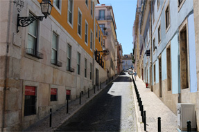 リスボンの裏通り