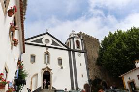オビドス旧市街・サンディアゴ教会