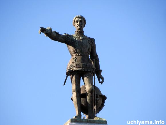 エンリケ航海王子の像