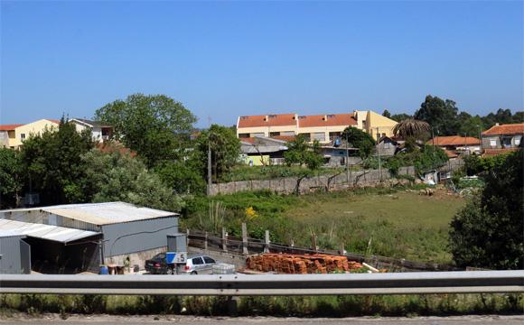 コインブラからの道風景