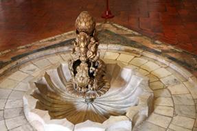 シントラ王宮・噴水