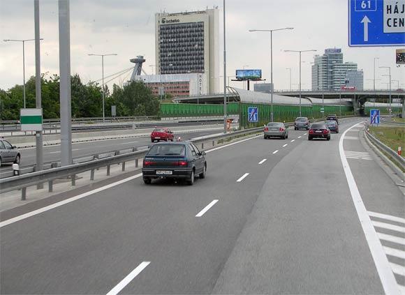スロバキアの道