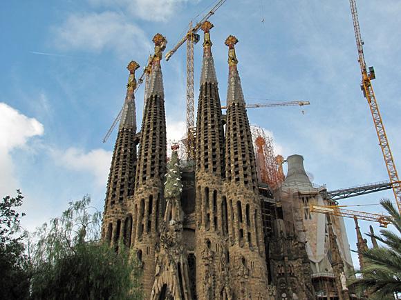 バルセロナ サグラダ・ファミリア聖堂