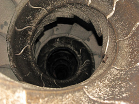 サグラダ・ファミリア聖堂・螺旋状の階段