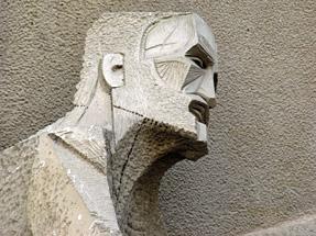 サグラダ・ファミリア聖堂・受難のファサード