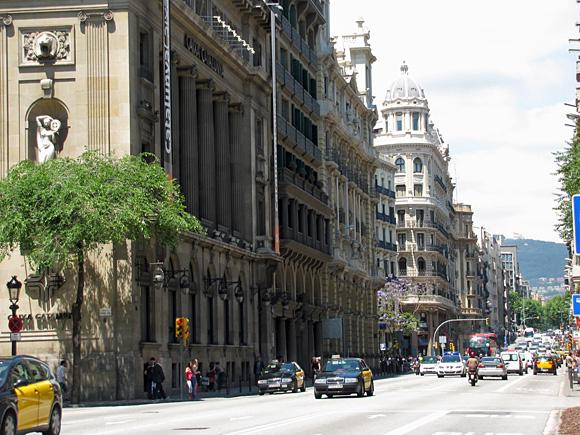 バルセロナ市街地