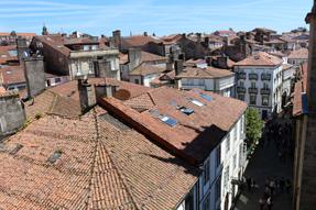 サンティアゴ・デ・コンポステーラ旧市街
