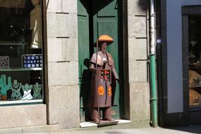 サンティアゴ・デ・コンポステーラの街角