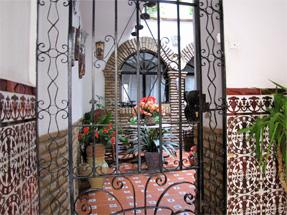 コルドバの街角・中庭