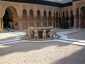 アルハンブラ宮殿・ライオンの中庭