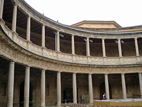 アルハンブラ宮殿・カルロス5世宮殿