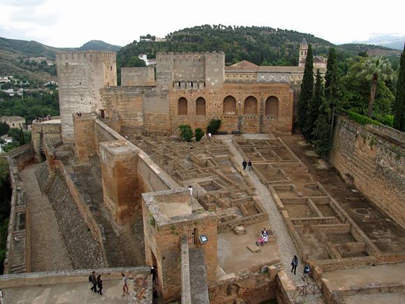 アルハンブラ宮殿・アルカサバ