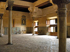 アルハンブラ宮殿・メスアールの間