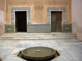 アルハンブラ宮殿・メスアールの中庭