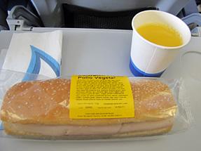 フィンランド航空・軽食