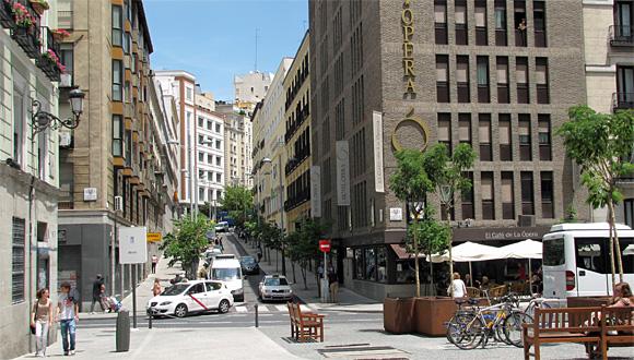 マドリード市街