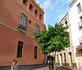 サンタ・クルス街・画家ムリーリョが住んでいた家