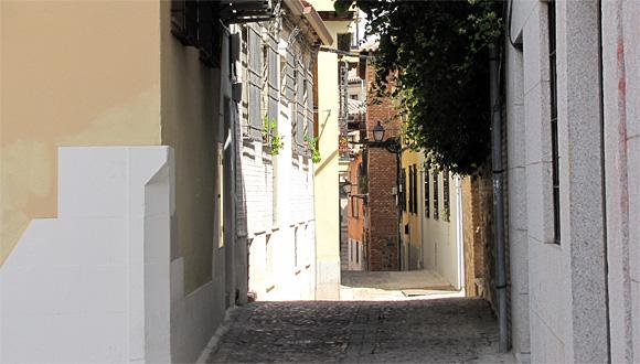 トレドの街角
