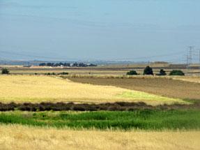 トレドへの道風景