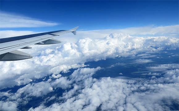 ベルゲンへの空旅