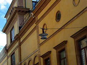 ストックホルムの街灯