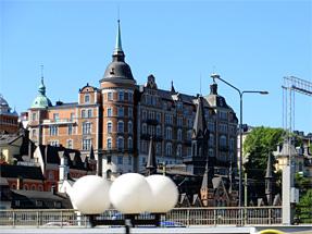 ストックホルム市街