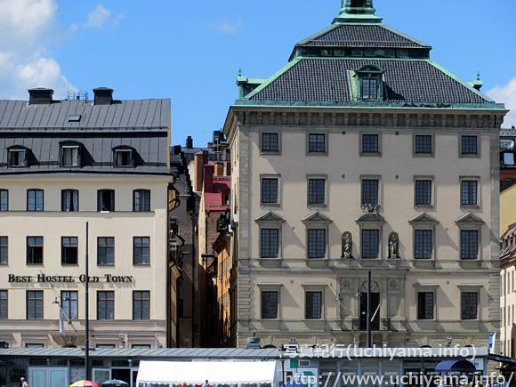 ストックホルムの建物
