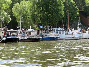 運河クルーズ