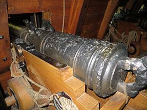 ヴァーサ号の大砲