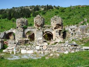 古代都市遺跡エフェソス・ヴァリウスの浴場