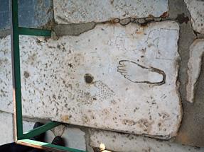 古代都市遺跡エフェソス・売春宿の広告