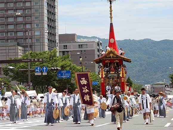 祇園祭・函谷鉾