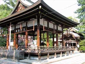 上御霊前通・御霊神社(上御霊神社)