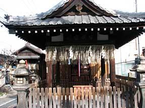 花屋町通・島原住吉神社
