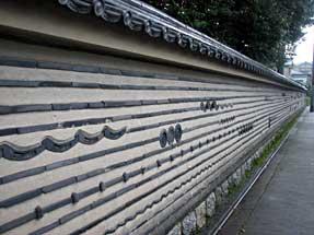 大徳寺土塀