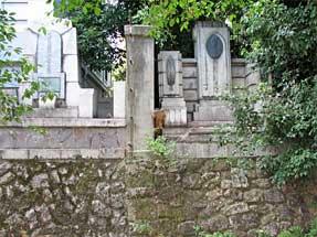 佐久間象山・大村益次郎遭難之地の石碑