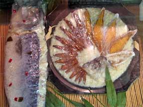 錦市場・鮒寿司
