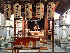 西洞院通・御金神社