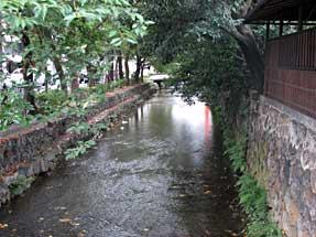 押小路通・高瀬川