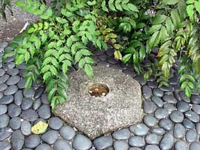 六角堂・京のへそ石
