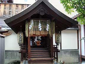 醒ヶ井通・人丸神社