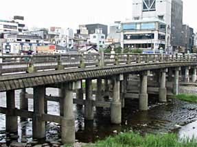 三条通・三条大橋