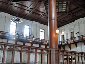 三条通・旧日本銀行京都支店