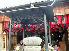 千本通・石像寺